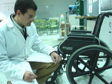 La Universidad patentará un nuevo mecanismo de propulsión para sillas de ruedas