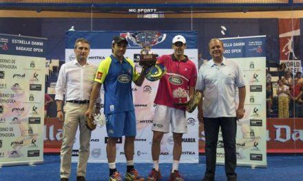 Fernando Balasteguín y Juan Martín Díaz se hacen con el título del World Padel Tour celebrado en Badajoz