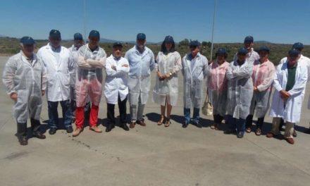 Echávarri se reúne con la cooperativa Acenorca de Montehermoso para conocer las necesidades del sector