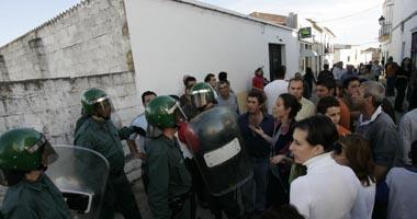 Tres personas sufren heridas tras un enfrentamiento entre varios vecinos y una familia de Mirandilla