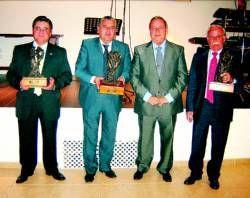 Los Empresarios de Almendralejo premian a Electrificaciones Parra, Cuycesa y San Marcos