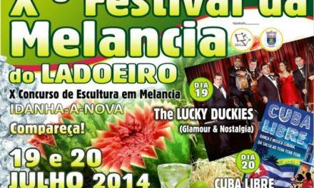 La localidad lusa de Ladoeiro celebra este fin de semana el X Festival de la Sandía este fin de semana
