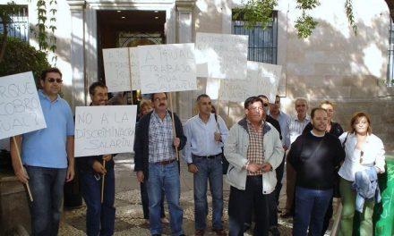Unos 200 trabajadores de Justicia reclaman la reapertura de negociaciones en las calles de Mérida