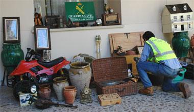 La Guardia Civil detiene al autor de cuatro robos en casas de campo cercanas a la ciudad de Badajoz