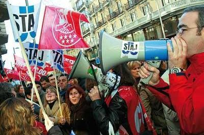 Los abogados y procuradores de Badajoz afirman que la huelga ha paralizado la administración de justicia