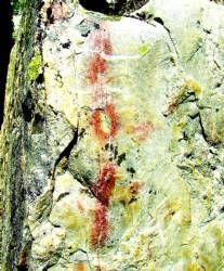 El Taller de Empleo Prehistópolis descubre nuevas pinturas rupestres en Santiago de Alcántara