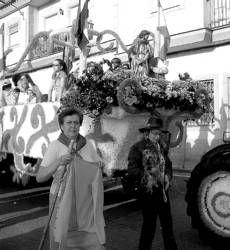 Tractores y animales tirarán de las carrozas en la romería de San Marcos el 25 de abril en Almendralejo