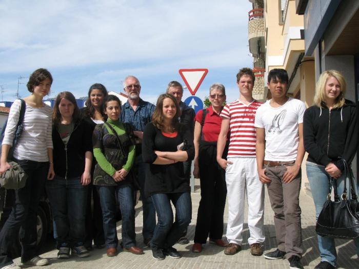 Estudiantes suecos pasan unos días de intercambio con jóvenes del Instituto Jálama de Moraleja