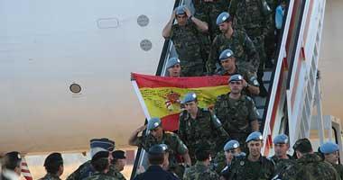 Regresan 158 soldados de la brigada Extremadura XI procedentes de una misión de paz en Líbano