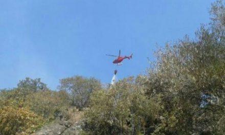 Extinguido por completo el incendió de Santibáñez el Alto que quemó unas 50 hectáreas