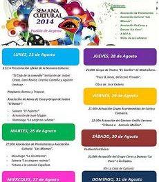 La semana cultural de Puebla de Argeme arrancará este lunes con espectáculos de comedia y teatro