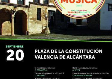 La Orquesta de Extremadura ofrece un concierto este sábado en Valencia de Alcántara