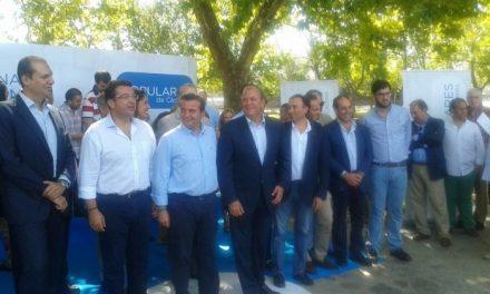 Caselles demanda la prolongación de la autovía regional EX-A1 hasta la frontera lusa