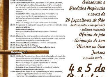 Panaderos lusos intentarán elaborar el pan más grande de Portugal en el Festival del Casqueiro