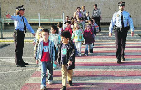 Los escolares de Moraleja participan esta semana en unas jornadas sobre educación vial