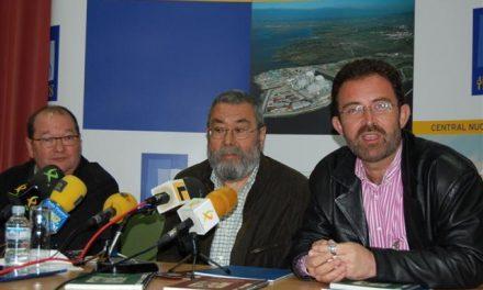 Cándido Méndez pide a la Central Nuclear de Almaraz que se implique más en el desarrollo del Arañuelo