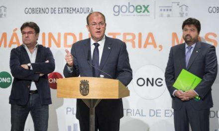 Monago anuncia la creación de 5.000 puestos de trabajo en 2015 mediante inversión pública en infraestructuras
