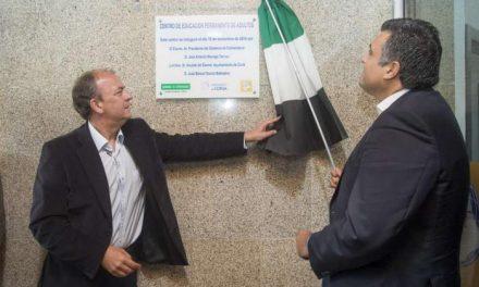 Monago reitera su apuesta por la formación en el nuevo Centro de Educación de Adultos de Coria