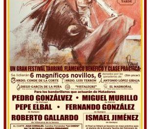 La ganadería El Madroñal dona un novillo que se lidiará en una corrida benéfica a favor de Cáritas
