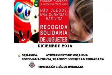 Moraleja organiza un año más la campaña de recogida de juguetes de cara a la Navidad