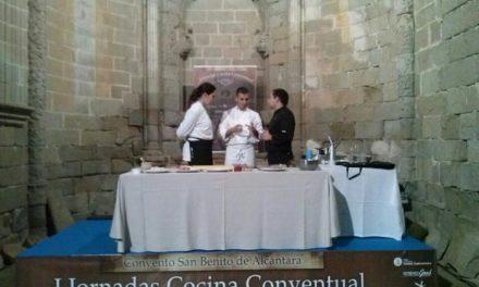 Alcántara promociona la cocina monacal con la celebración  de unas jornadas de cocina de conventos
