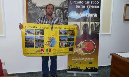 El Ayuntamiento de Alcántara promociona con nuevo material el Circuito Turístico por Tierras Rayanas