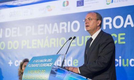 El presidente Monago anuncia que Portugal formará parte de la estrategia logística extremeña