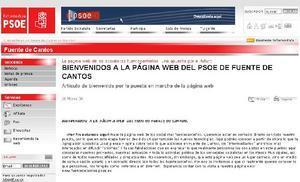 El PSOE de Fuente de Cantos crea su página web para establecer un contacto directo con los ciudadanos