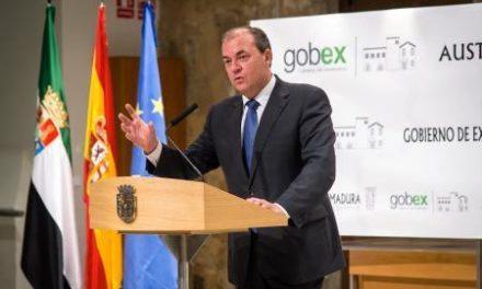 El Gobierno extremeño manifiesta su apoyo a las propuestas de reforma electoral que se debatirán en el próximo pleno