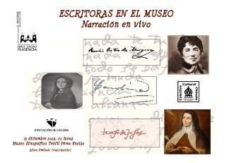 'Escritoras en el Museo' rinde homenaje al papel de la mujer en la historia de la literatura