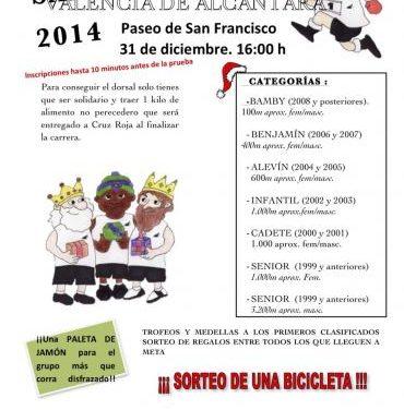 La Mancomunidad Sierra de San Pedro anima a participar en la San Silvestre de Valencia de Alcántara