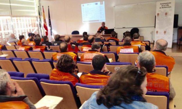 Más de 40 voluntarios de Protección Civil completan su formación en una jornada en Moraleja
