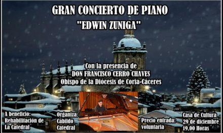 El Cabildo de la Catedral de Coria organiza un concierto para recaudar fondos para rehabilitar el templo