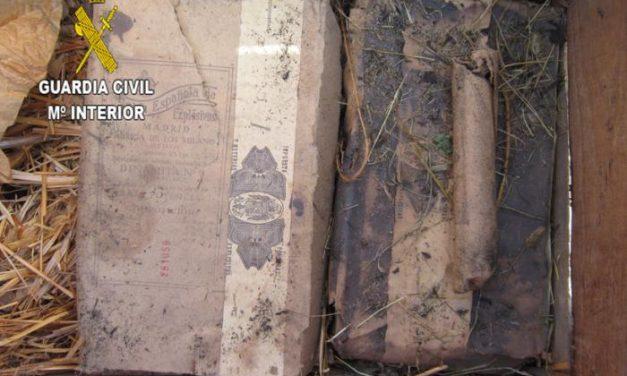 La Guardia Civil destruye 10 kilos de explosivos encontrados en una vivienda en Torrejoncillo
