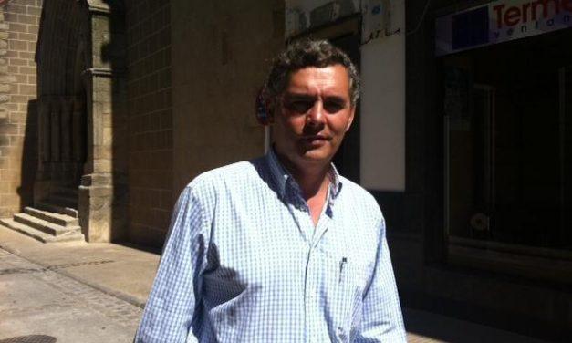 Pablo Carrilho repite como candidato del PP a la alcaldía de Valencia de Alcántara en las próximas elecciones
