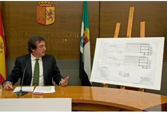 Diputación de Cáceres aumenta un 40% la inversión destinada a Cultura para el año 2015
