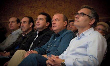 Monago alaba la gestión del alcalde de Valencia de Alcántara y candidato del PP a los próximos comicios