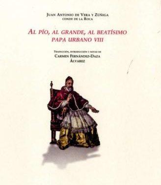 La Editora Regional y la Unión de Bibliófilos colaboran para editar una obra sobre el Papa Urbano