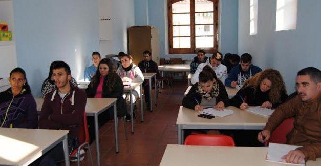 """El programa Aprendizext """"Tapada del Anta"""" forma a 16 jóvenes en  Valencia de Alcántara"""
