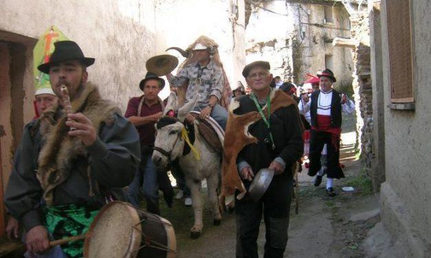 La alquería de Riomalo de Abajo se prepara para celebrar el Carnaval Hurdano el próximo 14 de febrero