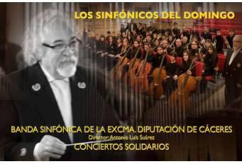La Banda Sinfónica y Teresa Viejo ofrecen este domingo un espectáculo solidario de música y cuentos