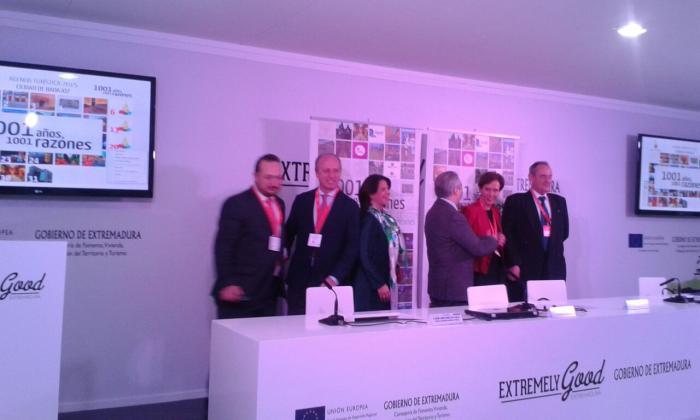 Diputación de Cáceres promociona en FITUR las 22 Fiestas de Interés Turístico de la provincia