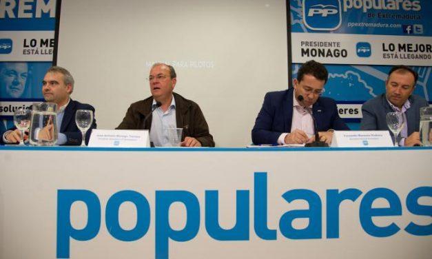 Monago repite como candidato por el Partido Popular a la Presidencia del Gobierno de Extremadura