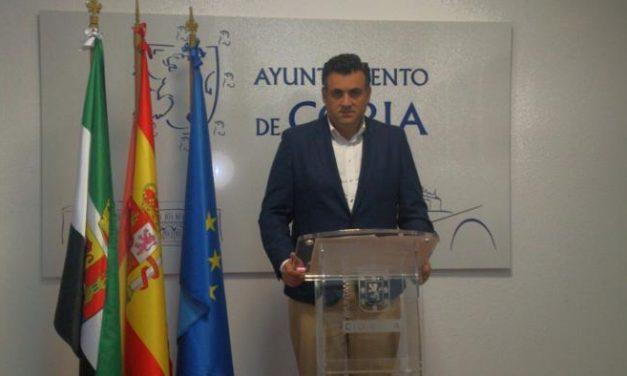 García Ballestero manifiesta su satisfacción ante el descenso del paro en Coria durante el mes de enero