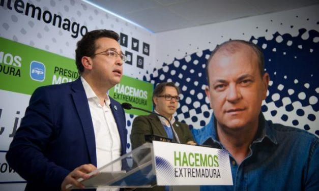 El PP de Extremadura presenta la campaña de reelección del Presidente Monago