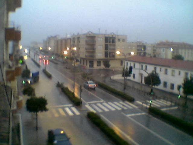 Alerta por lluvias en el norte de Cáceres que pueden llegar a los 70 litros por metro cuadrado