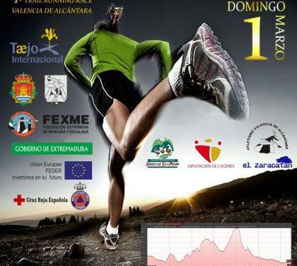 Más de 120 atletas participarán en la primera carrera trail de Valencia de Alcántara