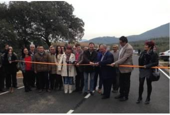 Diputación de Cáceres invierte 500.000 euros en mejorar la carretera de Azabal