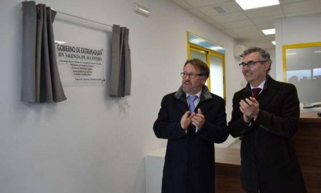 La nueva ITV de Valencia de Alcántara da servicio a 35.000 habitantes del oeste de la región
