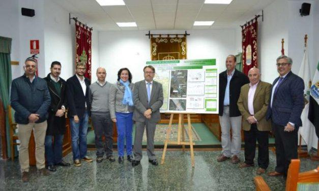Del Moral anuncia mejoras en el abastecimiento a Brozas y Alcántara e inaugura la planta de Piedras Albas